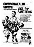 Commonwealth Summit: Vigil for Sanctions