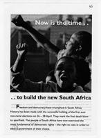 Now is the time to build the new South Africa
