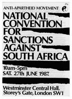 National Convention for Sanctions against South Africa