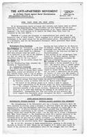 Anti-Apartheid Bulletin No. 5