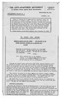 Anti-Apartheid Bulletin No. 6