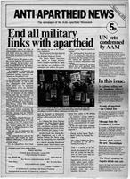 Anti-Apartheid News, November 1974