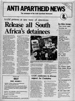 Anti-Apartheid News, October 1975
