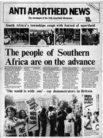 Anti-Apartheid News, September 1976