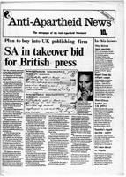 Anti-Apartheid News, December 1978