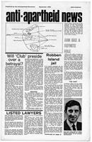 Anti-Apartheid News, September 1966