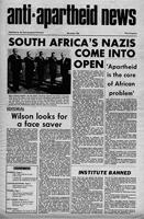 Anti-Apartheid News, November 1966