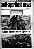 Anti-Apartheid News, December 1969/January 1970