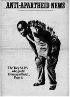 Anti-Apartheid News, March 1971