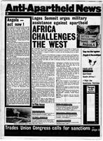 Anti-Apartheid News, October 1981