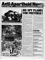 Anti-Apartheid News, July/August 1984