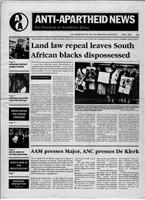 Anti-Apartheid News, April 1991