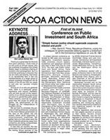 ACOA action news, No. 10