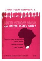 South African Crisis and United States Policy