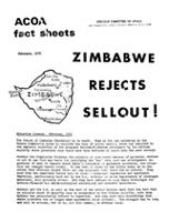 Zimbabwe Rejects Sellout!
