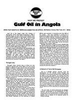 Why We Protest Gulf Oil in Angola