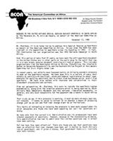 Address to the UN Special Session Against Apartheid by Reverend M. William Howard