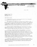 [Dear President Bush, I urge you not to lift sanctions against South Africa contained in the Comprehensive Anti-Apartheid Act of 1986]