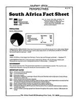 South Africa Fact Sheet