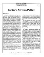 Carter's African Policy