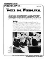 Voices for Withdrawal