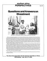 Questions and Answers on Divestment