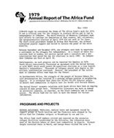 1979 Annual Report of The Africa Fund