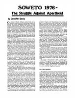 SOWETO 1976 - The Struggle Against Apartheid