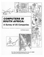 Computers in South Africa: A Survey of US Companies