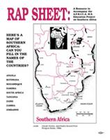 RAP SHEET: A Resource to Accompany the A.F.R.I.C.A. H.S. Education Project on South Africa
