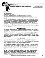 Re: Nelson Mandela Speaks to the Organization of African Unity