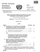 Report of the Special Committee on the Situation with Regard to the Implementation of the Declaration on the Granting of Independence to Colonial Countries and Peoples (covering its work during 1968)