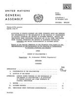 Report of the Special Committee on the Situation with regard to the Implementation of the Declaration on the Granting of Independence to Colonial Countries and Peoples . Activities of Foreign Economic and Other Interests which are Impeding the Implementation of the Declaration on the Granting of Independence to Colonial Colonies and Peoples in Southern Rhodesia, Namibia and Terrotories under Portuguese Domination and in All Other Territories under Colonial Domination and Efforts to Eliminate Colonialism, Apartheid and Racial Discrimination in Southern Africa