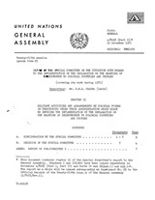 Report of the Special Committee on the Situation with Regard to the Implementation of the Declaration on the Granting of Independence to Colonial Countries and Peoples (covering its work during 1970)