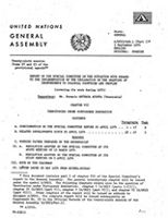 Report of the Special Committee on the Situation with Regard to the Implementation of the Declaration on the Granting of Independence to Colonial Countries and Peoples (covering its work during 1974)