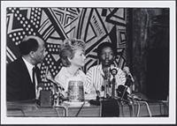 Part 03, International Conference on Children and Apartheid: Nthabiseng Mabusa interviewed by Glenys Kinnock at the International Conference on Children, Repression and the Law in Apartheid South Africa, Harare, September 1987.