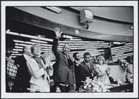 Part 04, AWEPAA activities in Europe and Southern Africa: Nelson and Winnie Mandela, European Parliament, Strasbourg, June 1990.