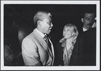 Part 02, South Africans in the Netherlands: Nelson Mandela and Conny Braam, Amsterdam, June 1990.