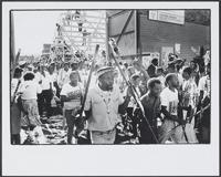 Part 09, South Africa 1994 elections: Inkatha Freedom Party pre-elections rally, Soweto, April 1994.