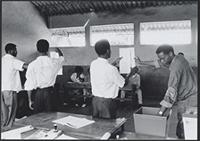 Part 10, Mozambique elections, 1994: Mozambique 1994 elections: counting the votes in Maputo, October 1994 [1].