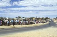 Part 08, Namibia elections, 1989: Namibia 1989 elections: voting in Katatura township, Windhoek, November 1989 [3].