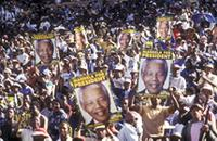 Part 09, South Africa 1994 elections: ANC pre-elections rally, Soweto, April 1994 [1].