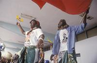 Part 10, Mozambique elections, 1994: Mozambique 1994 elections: FRELIMO pre-elections rally, Maputo, October 1994 [1].