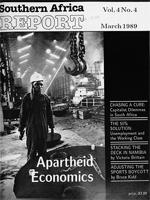 Southern Africa report, Vol. 4, No. 4