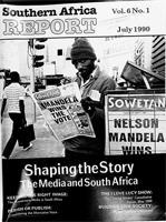 Southern Africa report, Vol. 6, No. 1