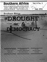 Southern Africa report, Vol. 8, No. 1