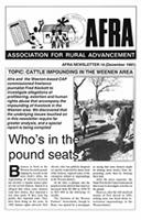 Afra newsletter, No. 14