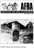 Afra newsletter, No. 1