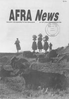 Afra newsletter, No. 30/31