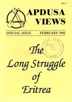 Apdusa views, Feb. 1993, Special Issue